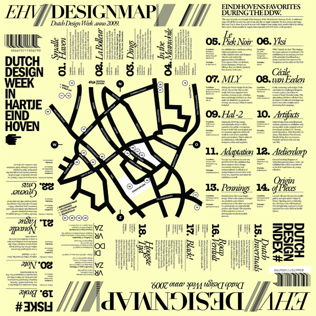 Design Map DDW 2009
