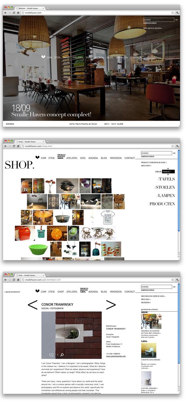 Smalle Haven website
