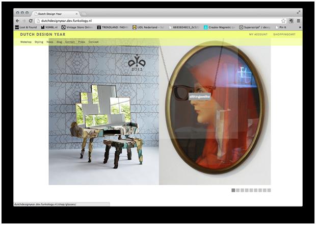 Homepage Dutch Design Year